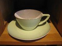東洋陶器◇TOYOTOKI◇カップ&ソーサー ◇レトロ◇モダン ◇ デッドストック