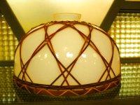 照明◇ランプシェード◇ガラス ◇竹飾り◇店舗 ◇レトロ◇昭和