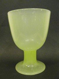氷コップ◇黄練り◇ウラン◇プレスガラス◇なつめ型