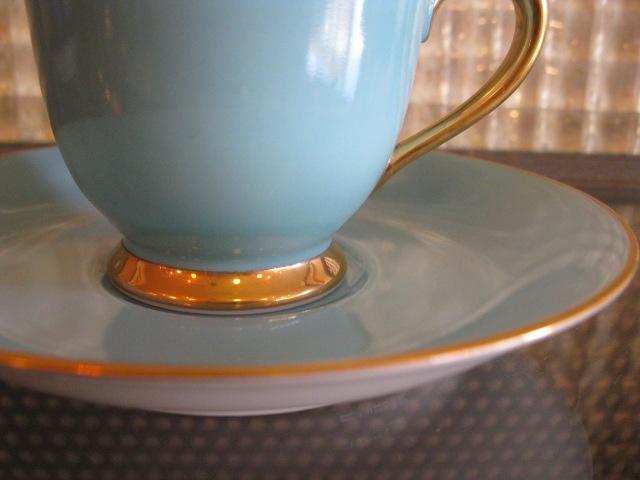 画像3: ノリタケ◇デミタス◇カップ&ソーサー◇デッドストック