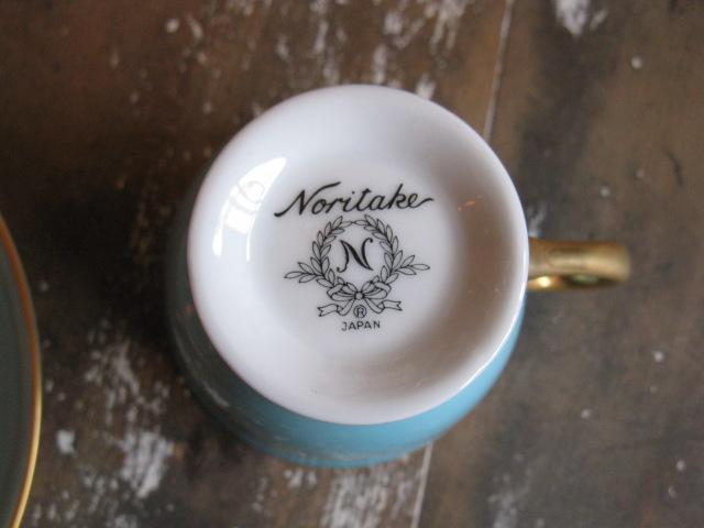 画像5: ノリタケ◇デミタス◇カップ&ソーサー◇デッドストック