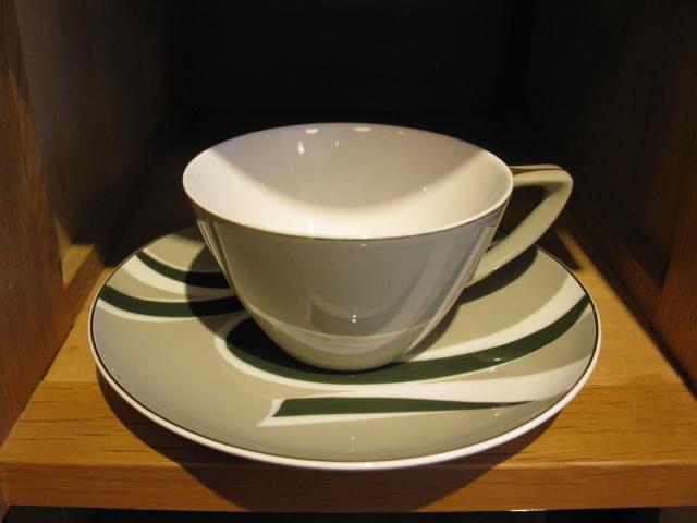 画像1: 東洋陶器◇TOYOTOKI◇カップ&ソーサー ◇レトロ◇モダン ◇デットストック