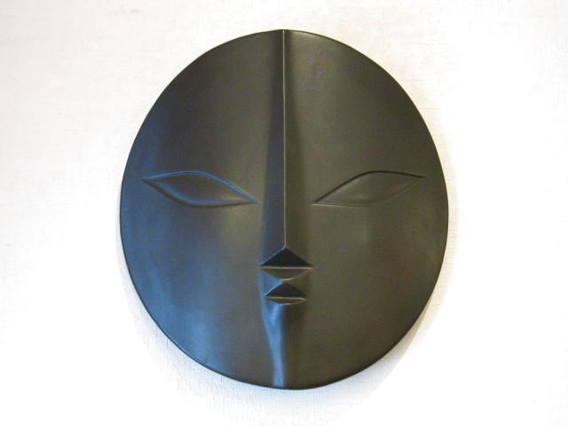 画像1: 岡本太郎◇太陽の顔◇過去の顔◇大型◇31cm◇信楽焼◇TARO◇陶製