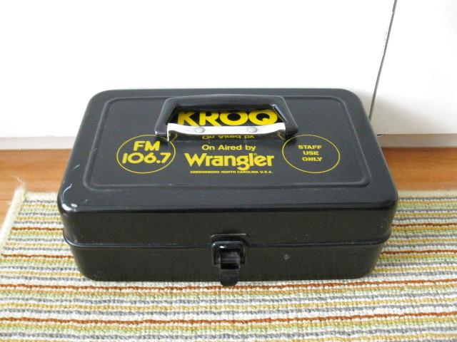 画像1: Wrangler◇ラングラー◇当時物◇旧VAN◇工具箱◇小物入れ